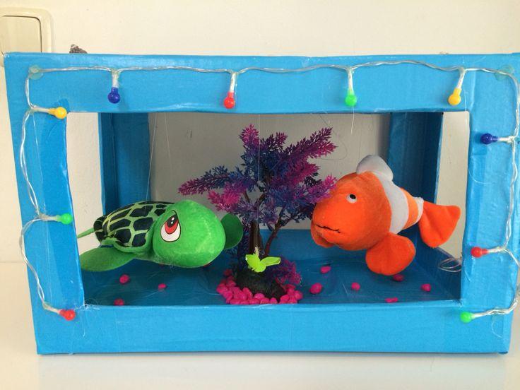 Nemo schildpad aquarium Sinterklaas surprise www.sinterklaassurprises.jouwweb.nl