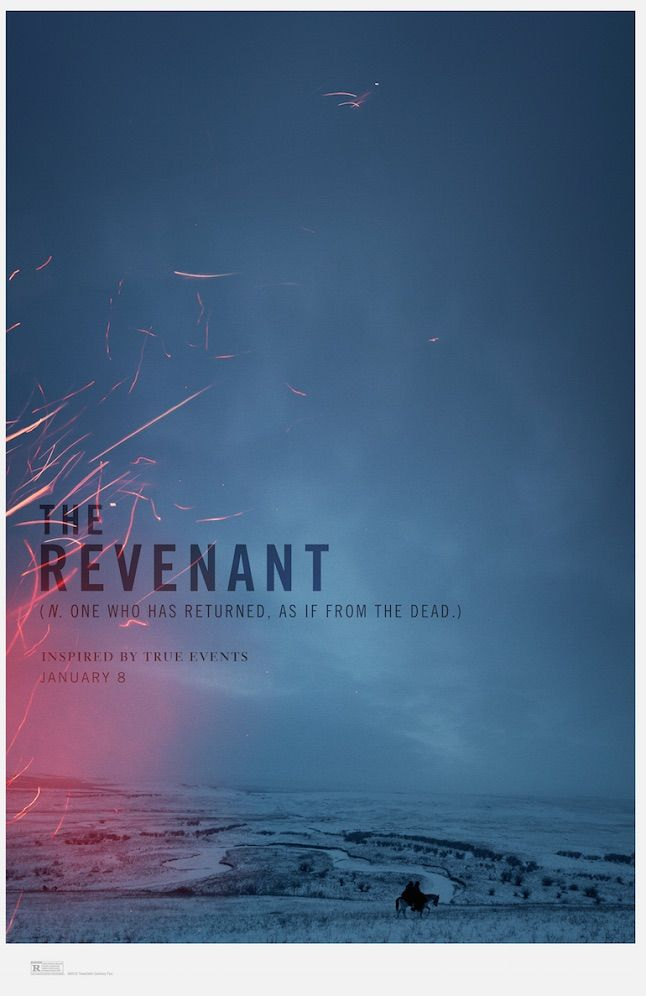 'The Revenant' Poster Swaps Leonardo DiCaprio For Breatht | Indiewire