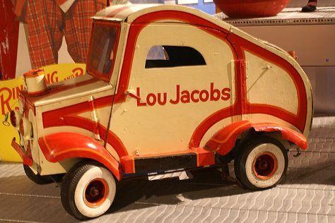 Circus clown car from the Ringling Circus Museum in Sarasota, Florida.