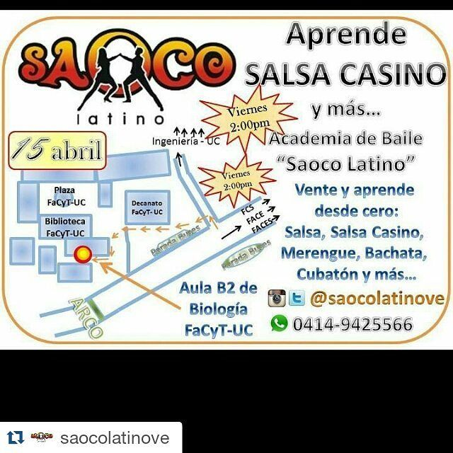 #Repost @saocolatinove with @repostapp  #SaocoLatino #UC 04149425566 con @raefelix #Facyt #FACE #FACES #Ingenieria #Fcs #SalsaCasino #Salsa #Bachata #SalsaCasinoVenezuela @salsacasinovenezuela #UniversidadDeCarabobo #Naguanagua #Valencia #SanDiego