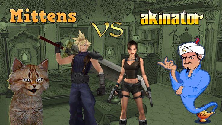 Mittens vs Akinator (the Web Genie).