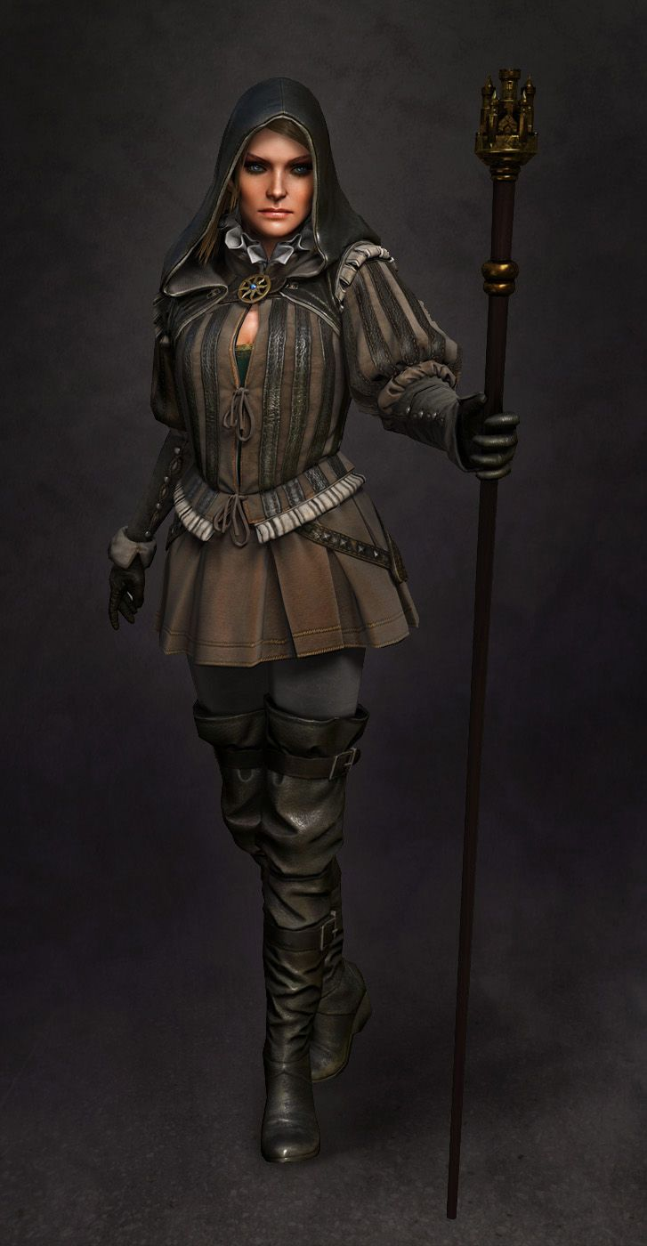 Witcher 2 Assasins of Kings models