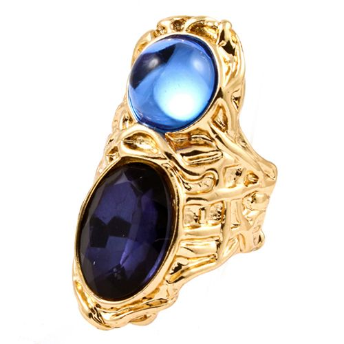 Natalie Jewel Tone Ring in blue