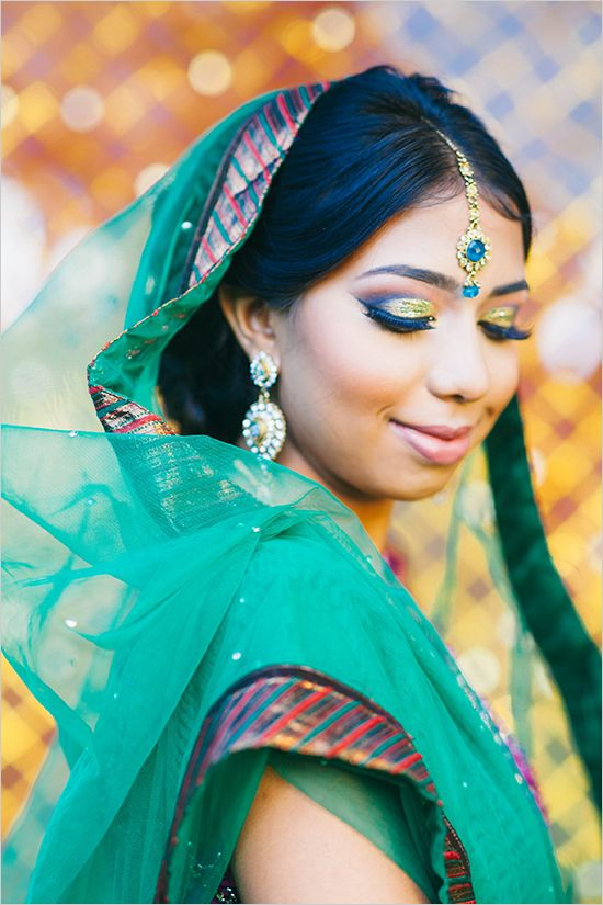 beautiful bridal look   hair and makeup ideas   bridal look   Indian bride   #weddingchicks