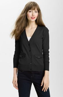 10 Wardrobe Essentials Every Woman Should Own - Halogen New Girlfriend Merino Cardigan, $78