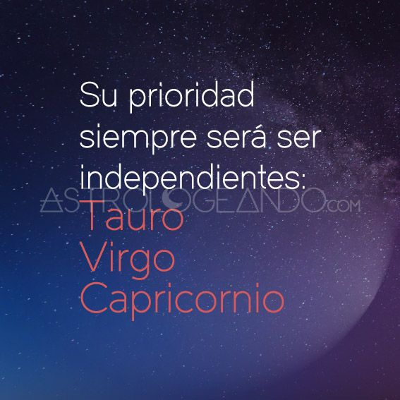 #Tauro #Virgo #Capricornio #Astrología #Zodiaco #Astrologeando
