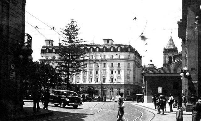 Hotel Granada y Parque Santander de Bogotá