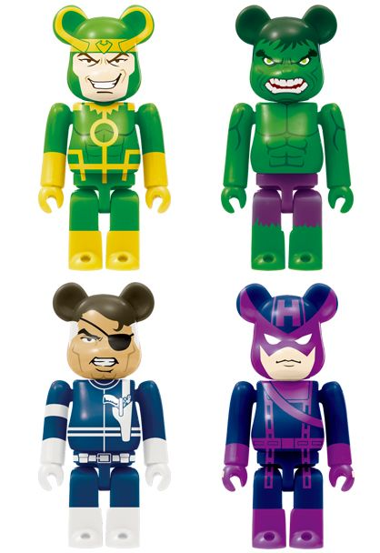 Marvel x Medicom Toy Bearbrick