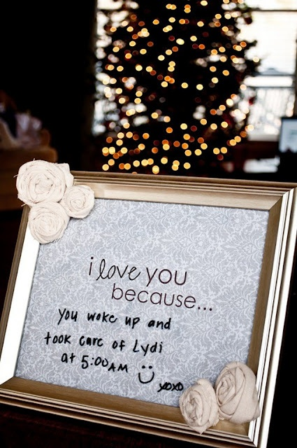 I love you because frame... making one of these for a work buddy that is getting married! Going to post mine when I get done cuz mine is waaaay freaking cuter! I am a craft jeenyus!