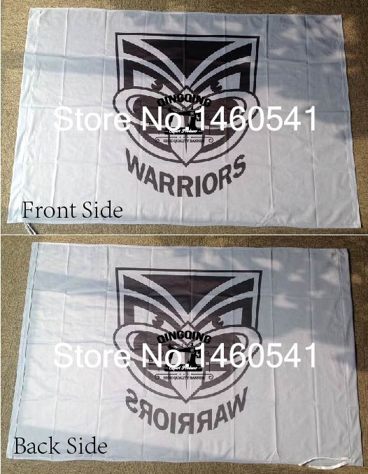 New Zealand Warriors Flag 3ft x 5ft National Rugby League NRL Banner Size 4 144* 96cm Flag