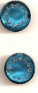 Elan 45 7574E Teal Button(2/card)