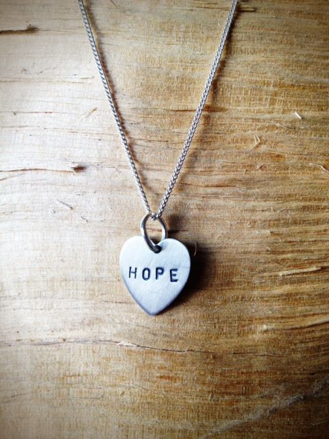 Hope...it's what keeps us going as humans...In the dictionary the definition of hope is the 'grounds for believing that something good may happen...' We all like good things and this Livto hope heart necklace is no exception to all things nice. At Livto we want our customers to smile when they're wearing our jewellery and this Hope necklace is a little reminder that even when the proverbial does hit the fan - there is always something good waiting to happen just round the corner...