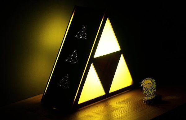 Make Your Own Zelda Triforce Lamp | DIY