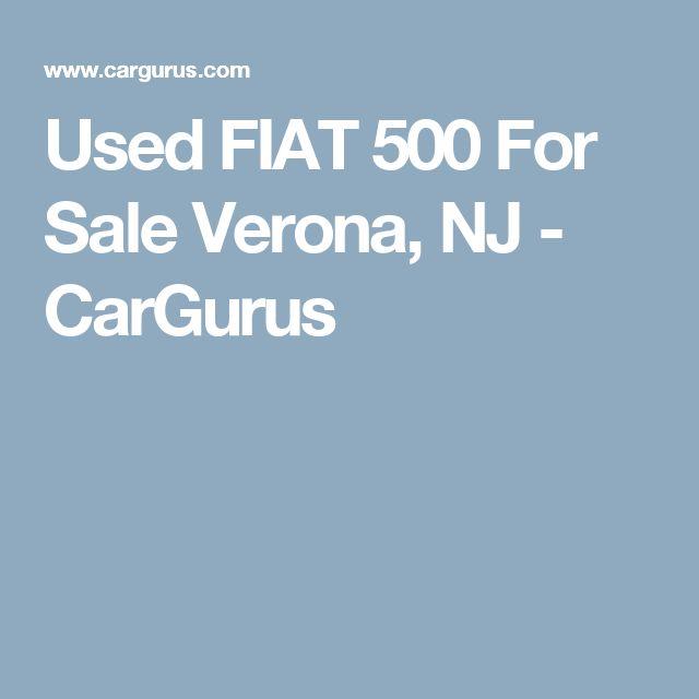 Used FIAT 500 For Sale Verona, NJ - CarGurus