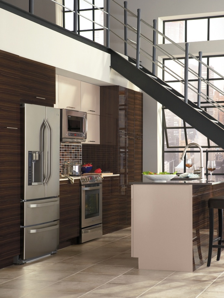 68 best contemporary kitchens images on pinterest for Kitchen craft cabinets