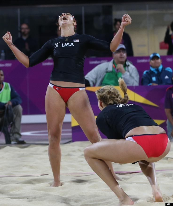 Womens volleyball upskirt clips striping minka