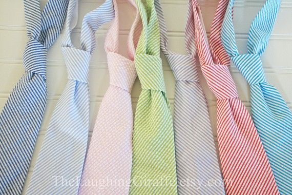 searsucker ties: Mens Tie By, Bow Ties, Wedding Ideas, Seersucker Ties, Men Ties, Groomsmens Ties, Baby, Boy, Seersucker Classic Mens
