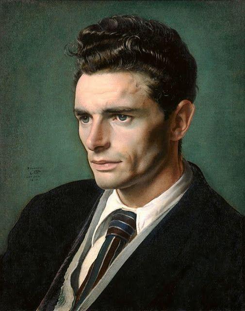 Portrait of men - Pietro Annigoni was born on the 7th of June 1910 in Milan
