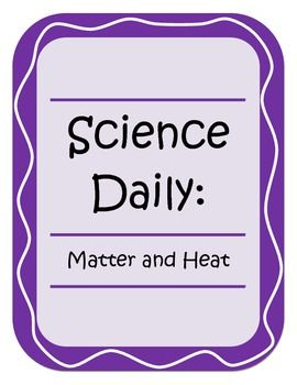 Science Daily - Matter and Heat