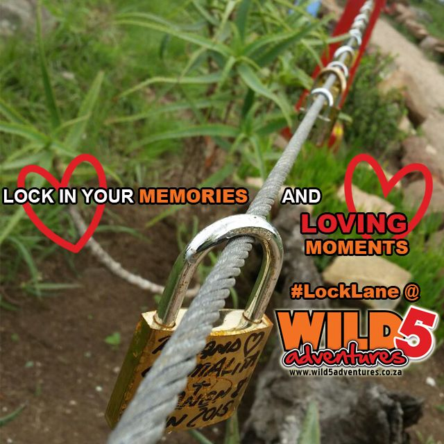 Lock in your #love at our #LockLane at the world renowned #OribiGorge on the #SouthCoastKZN http://bit.ly/1OyW6ab