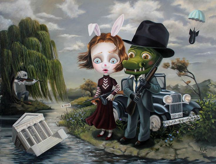 Xue Wang | Bonnie and Clyde