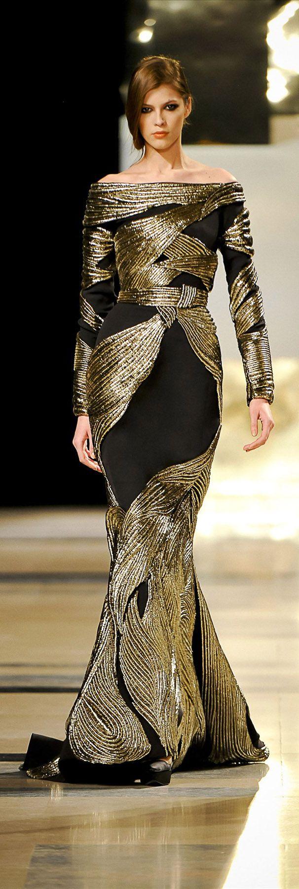Stéphane Rolland 2011 Haute Couture Paris: Blackgold, Gowns Dresses, Couture Paris, Couture Gowns, Stéphane Rolland, Evening Gowns, Stephane Rolland, Black Gold, Grey Dresses