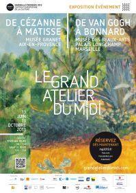 Le Grand Atelier du Midi « de Van Gogh à Bonnard », au palais Longchamp à Marseille | En revenant de l'expo !