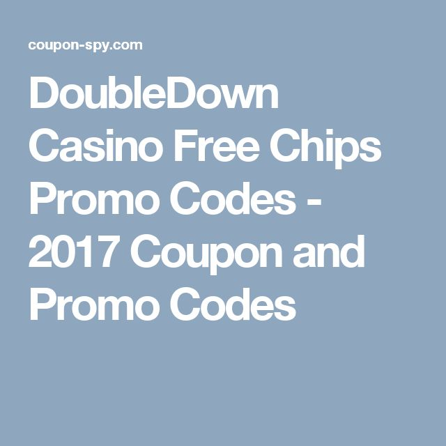 doubledown casino promo code march 2017