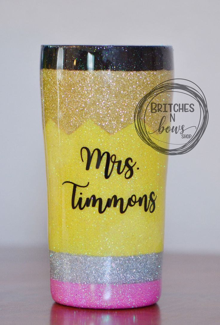 »»»»»»»»»»»»»»»»»»»»»»»»»»»»»»»»»»»»»»»»»»»»»»  Who doesn't love GLITTER?! This made to order Ozark Trail Tumbler is a perfect gift for teachers!  Your tumbler is designed with ACTUAL GLITTER and sealed for a smooth and flawless finish!  You have th