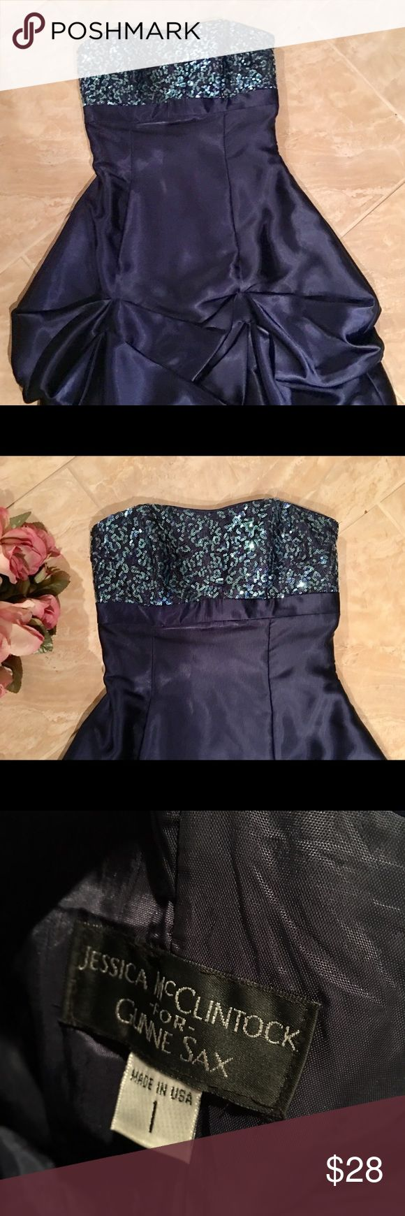 Jessica McClintock strapless party dress Beautiful party dress or even great for prom no rips or tears Jessica McClintock Dresses Strapless