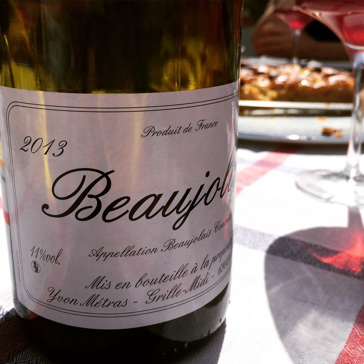 #Beaujolais #YvonMétras #vinnaturel
