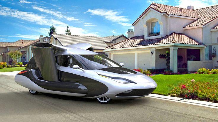 Volvo's parent company acquires flying car startup Terrafugia