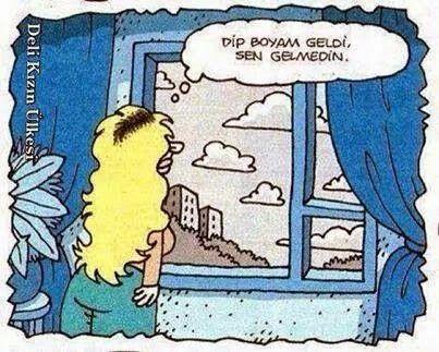 Ah ah  Şiir   Dip boyası Karikatür komedi dram
