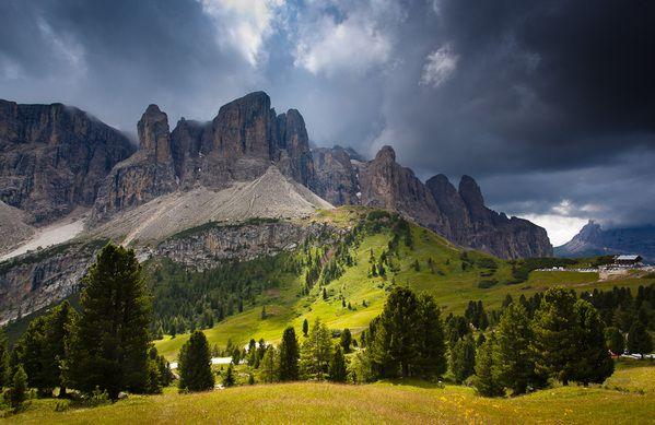 Dolomites After Storm by Jakub Polomski, via Behance