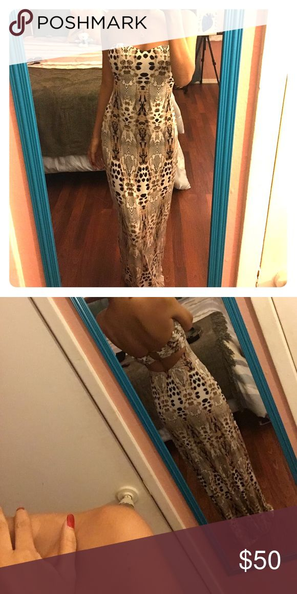 bebe Cheetah Dress One of my favorite bebe Dress bebe Dresses Midi