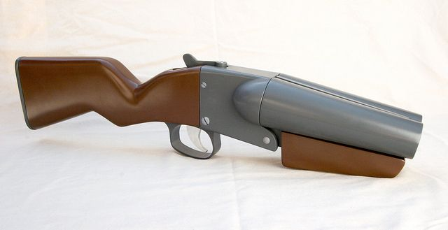How to make the Scout's gun from TF2