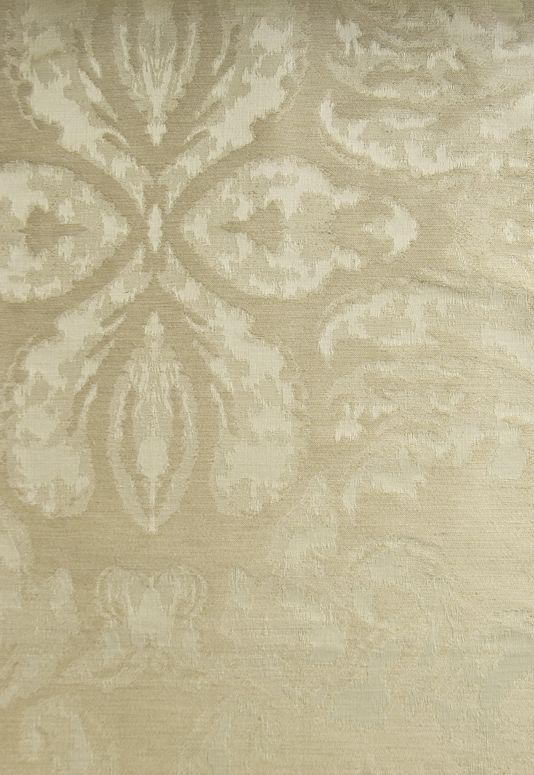 (not in US) Gossamer Damask Fabric A neutral silk Damask.