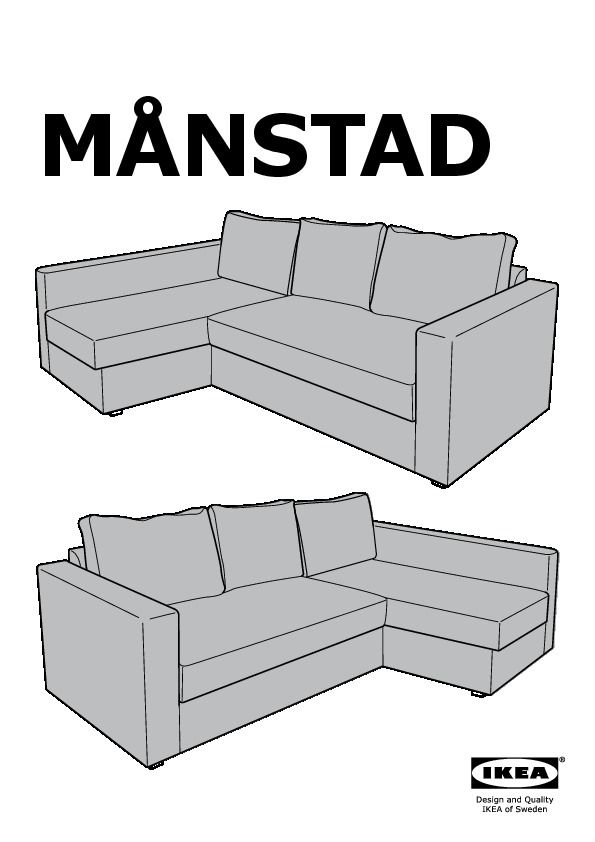 Manstad Sofa Dimensions In 2020 Bed Measurements Sofa Bed With Storage Sofa Bed