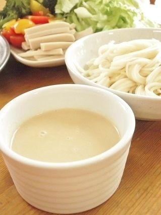 ☆スパイス大使☆ゴマ豆乳麺つゆでサラダひやむぎ by まんまるらあて ...