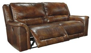 Signature Design by Ashley Jayron Leather Sofa Type: Manual
