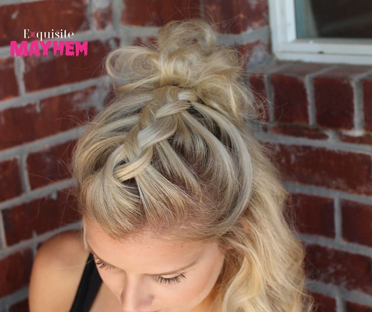 Braided Updo Hairstyles for weddings