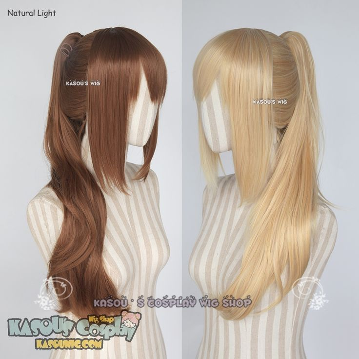 [Kasou Wig] Pokémon GO Female trainer clip on ponytail wig / 62cm long .