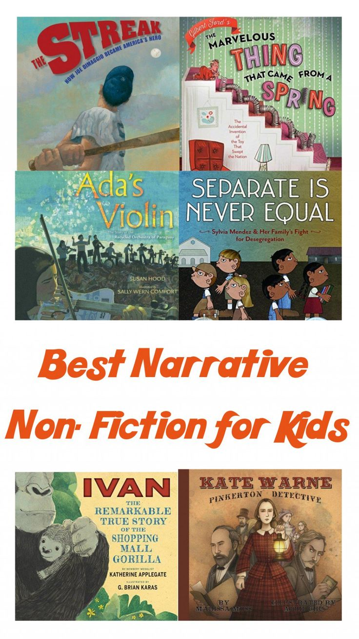 A librarian's reviews and summaries of the best narrative nonfiction books for children, which are emphasized in the curriculum of the common core from kindergarten through 6th grade.