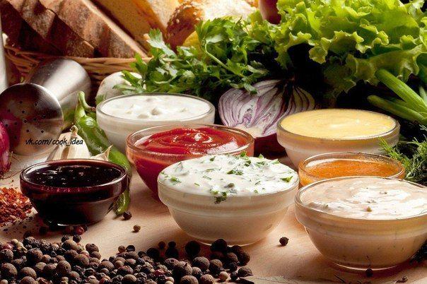 22 невероятно вкусных соуса на все случаи жизни!