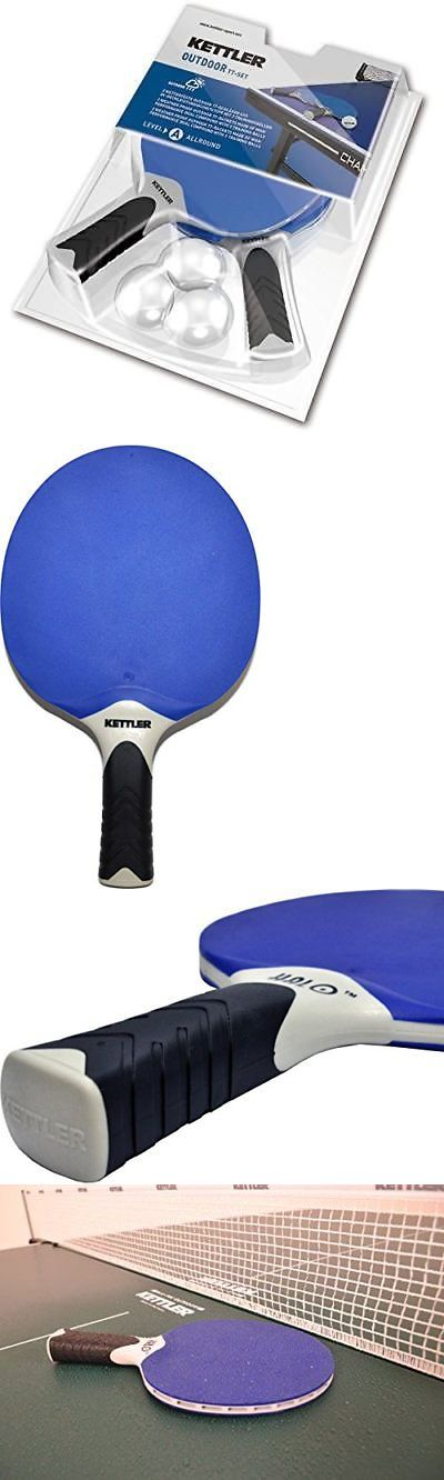 Sets 158955: Kettler Halo 5.0 Indoor Outdoor Table Tennis Bundle: 2 Player Set (2 -> BUY IT NOW ONLY: $50.39 on eBay!