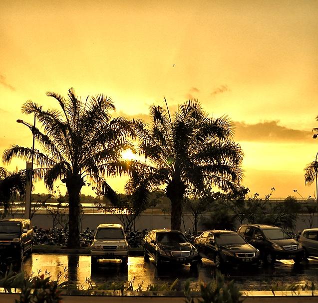Sunset @ Makassar Trans Studio Mall