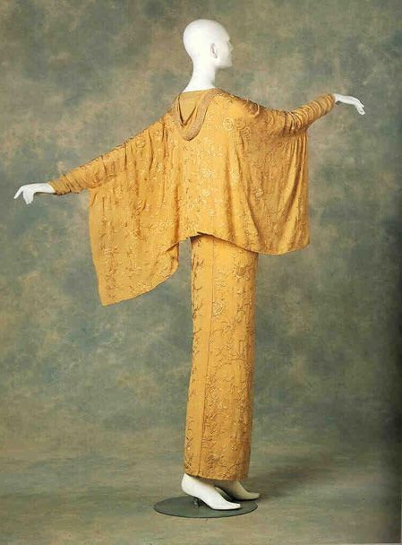 1912 - Paquin.   I wish I knew where this was from. I love that cape-y jacket and would love to see the front.