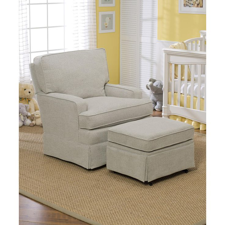 The Charlotte Upholstered Swivel Glider by Best Chairs makes the perfect place to sit back and bond with baby. The neutral Stone color upholstery and welcoming design of the chair provide versatility, blending seamlessly into almost any room's decor. The Charlotte Upholstered Swivel Glider features a gentle gliding motion that's sure to calm baby and parent alike! Thick cushioning in the seat and seat back, and padded arms offer the utmost in comfort. Best Chairs' gliders combine…