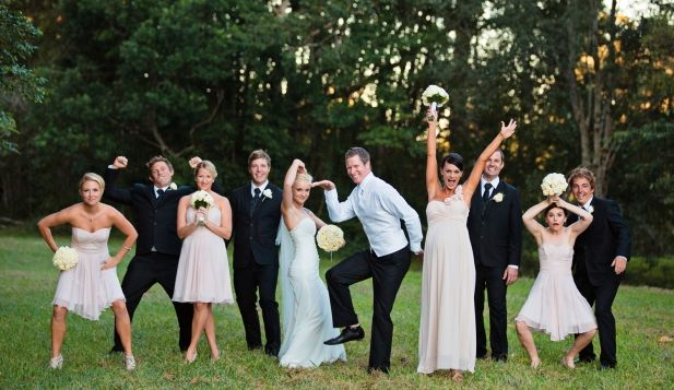 Wedding Party Photo // Cassie + Paul // Planning by Wild Heart Weddings // Photography by Emma Nayler Photographer