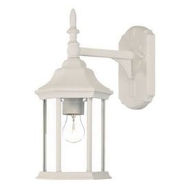 Acclaim Lighting Craftsman 14-In H Textured White Outdoor Wall Light 5